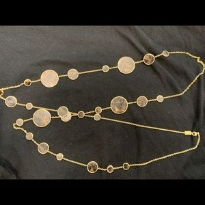"Ippolita 18k gold Polished Rock Candy necklace 51"""